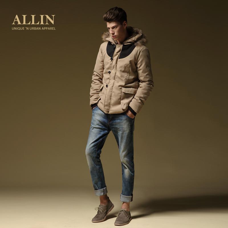 Куртка All in wt970 ALLIN Пуговицы, 1 ряд Средней длины (длина одежды равна длине рукава+-3 см) Облегающий покрой
