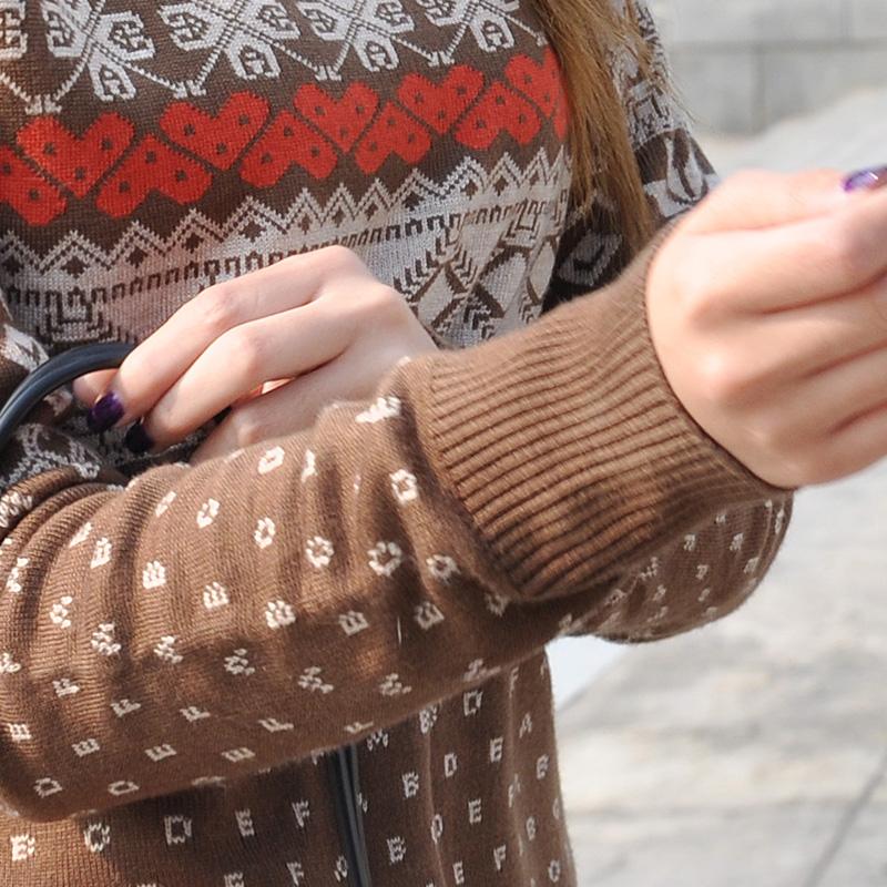 Свитер женский Dielian 11160a 2012 11160 Другое Зима 2012 Длинный рукав Классический рукав Высокий воротник