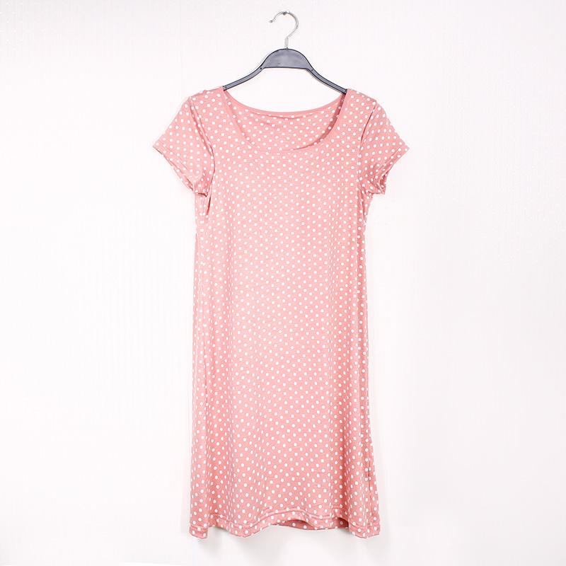 Цвет: Сладкий розовый горошек короткими рукавами