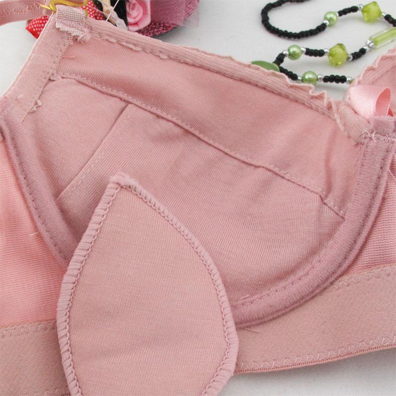 Комплект нижнего белья 618 Эффект поддержки Бантик бабочкой Роскошный и благородный стиль Разные материалы