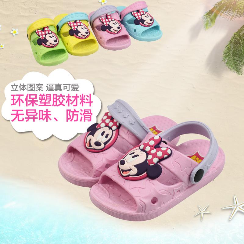 迪士尼儿童凉拖鞋