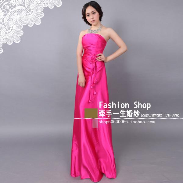 Вечернее платье Специальный тост красный тост костюм платье свадебное длинные платья 4 цвета в