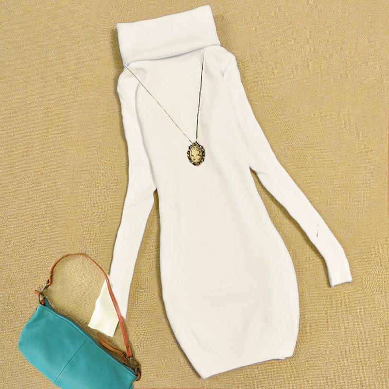 Цвет: Белый свитер долго складной кошельки