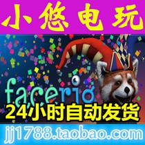 Steam中文正版 FaceRig 脸部捕捉 卖萌好帮手 国区礼物_小悠电玩