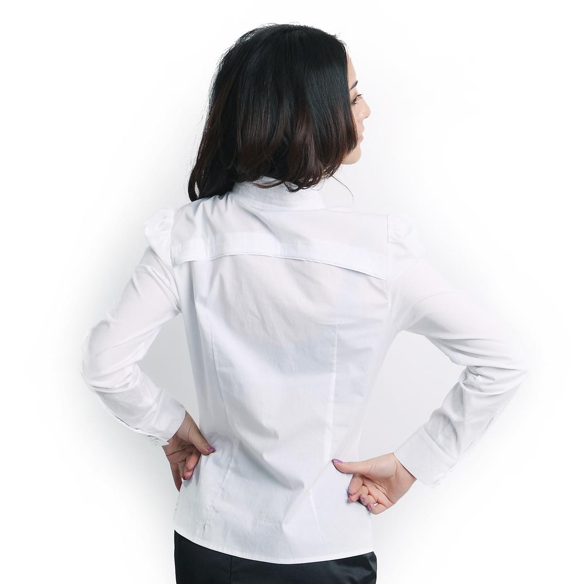 женская рубашка OSA sc91204 O.SA Casual Длинный рукав В клетку Воротник-стойка