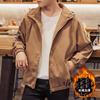 春季青年夹克男士学生外套潮流帅气秋冬装外衣棒球服