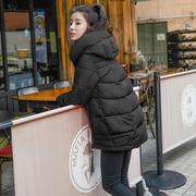 棉袄女2018学生冬季棉服中长款加厚棉衣外套女士棉衣服