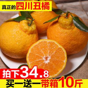 四川丑柑丑橘不知火丑桔10斤水果新鲜当季丑柑橘应季桔子橘子