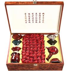 铁观音茶叶礼盒装500g浓香型特级乌龙兰花香高档中秋送礼茶具