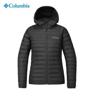 2018秋冬哥伦比亚户外女装防水3D热能800蓬鹅绒羽绒服WR0185