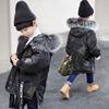 童装男童棉衣2018冬装儿童棉袄中长款男孩棉服加厚中大童外套