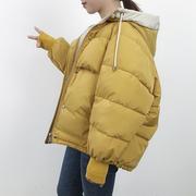 东大门羽绒棉服女短款ins面包服棉袄2018学生冬季棉衣外套潮
