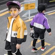 男童春装2019 洋气潮宝宝外套1-3岁帅气儿童时尚两件套装