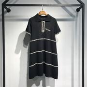 小香风气质款 冰麻清凉气质连衣裙 均码 1809