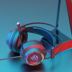 斗鱼DHG160电脑电竞耳机头戴式游戏耳麦7.1声道吃鸡听声辩位有线台式带话筒笔记本超重低音电脑耳机带麦