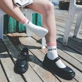 查看精选StuckB咸鱼共和国丨零系列上篇软妹小皮鞋女chic复古玛丽珍鞋学生最新价格