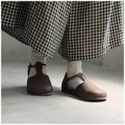 日系森林系原宿风丁字带圆头可爱娃娃鞋玛丽珍鞋大头鞋森女鞋单鞋