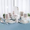 硕果累累碗碟套装中式单件吃饭碗碟家用陶瓷餐具结婚送礼鱼盘烤盘