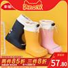 儿童雨鞋男童女童婴幼儿水鞋防滑1-3岁宝宝胶鞋防水中筒靴子套鞋