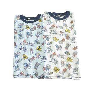 夏装男宝女宝纯棉短袖甜美咸蛋系列宽松儿童洋气打底T恤两色半袖