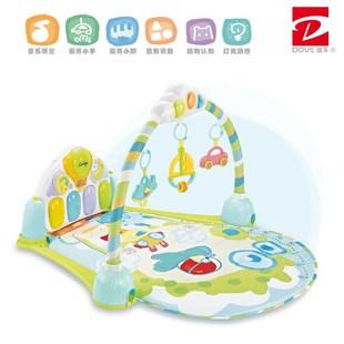 迪孚谷雨脚踏钢琴婴儿健身架新生儿宝宝音乐玩具0-1岁3-6-12个月