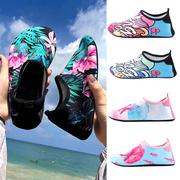 2021沙滩鞋男士海边时尚女涉水潜水游泳溯溪浮潜防滑软底凉鞋