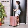 行李箱女旅行箱登机万向轮拉杆箱男密码箱个性小清新箱子