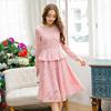 大码名媛时髦微胖很仙的心机套装裙春季两件套胖mm显瘦潮洋气减龄