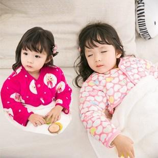 马甲四季冬天宝宝睡觉护肩护胳膊晚上保暖手臂睡衣纱布护胸舒适加
