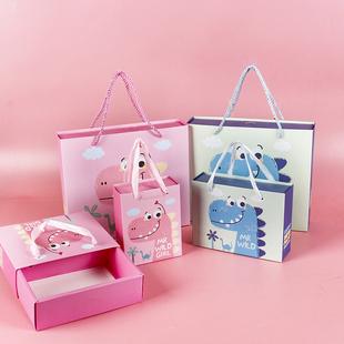 宝宝诞生礼盒满月喜蛋喜糖抽拉盒出生新生儿周岁伴手礼抽屉盒装烟