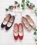 复古软妹洛丽塔lolita文艺森林系日系女鞋娃娃鞋芭蕾舞鞋玛丽珍鞋