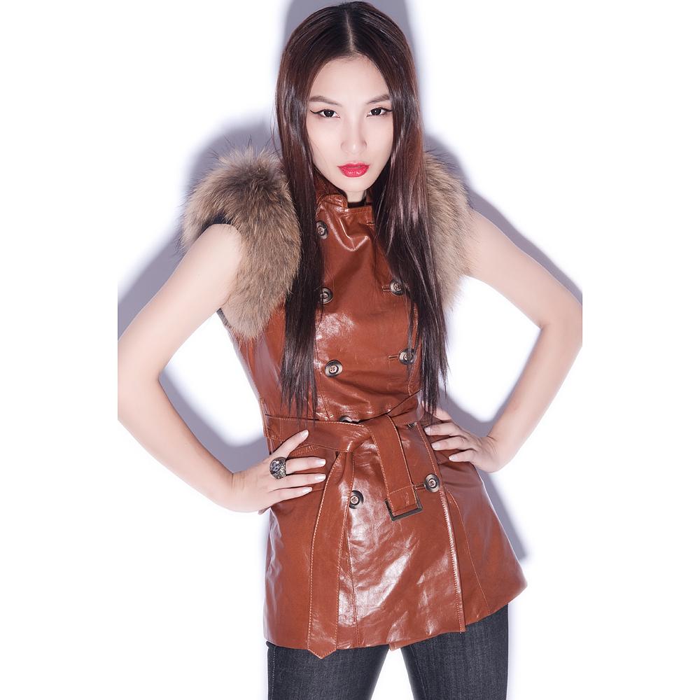 Кожаная куртка 1012  2012
