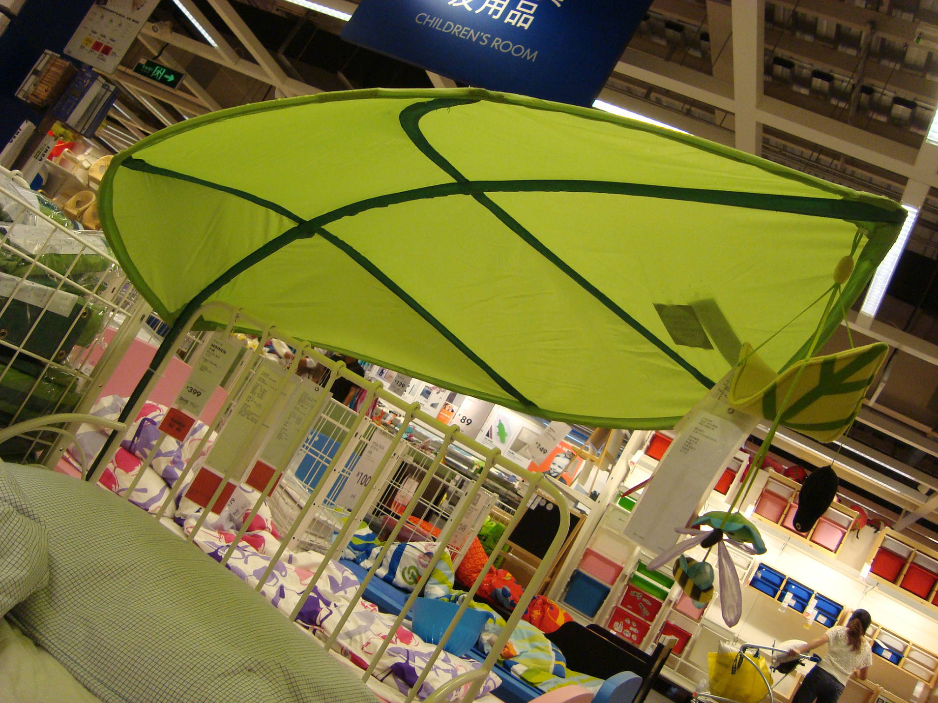 детский текстиль IKEA Покупка Зеленый кровати балдахин ребенка Балдахин для кровати