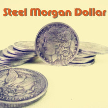 High quality Morgan COINS Morgan COINS Morgan COINS restoring ancient ways Two iron coin coin magic props