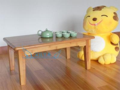 Bamboo wood coffee table kang table bed table computer desk table chess tables tatami little friends study table
