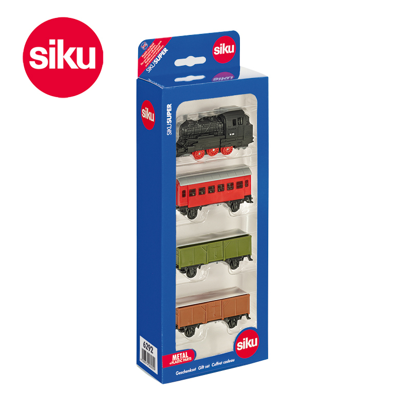 Germany train SIKU gift packed second quarter of U6292 alloy car model toy