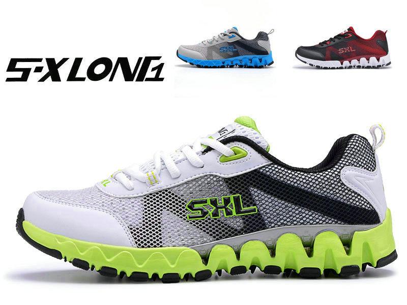 SXLONG正品2012春夏男士运动鞋旅游鞋休闲透气网鞋男鞋跑步鞋2135