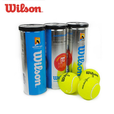 Authentic wilson beginner training professional game of tennis ball cans Australian Open Australian Open