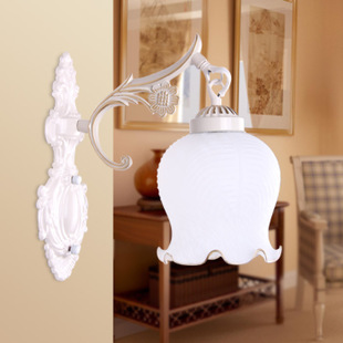 Mirror lamp Wall lamp bedside lamp modern European style simple hallway lighting ideas-bedroom lamp 6601-1