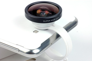 IPhone5 phone add-round clip super wide-angle millet General Magic HTC Samsung lens
