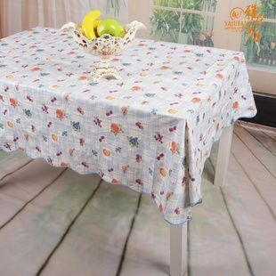 Waterproof and oil-free heat-resistant PVC tablecloth, agile workshop wash cloth WTL091