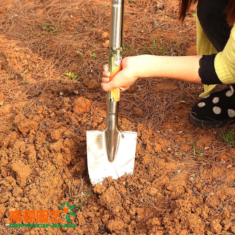 Садовый инвентарь Первоклассной нержавеющей стали инструмента сада лопату лопатой фермы овощной садоводства посадки деревьев лагеря снег лопатой
