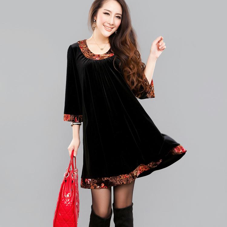 Женское платье yf26015/q0311 Mm Осень 2012 Фланель