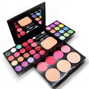 Alice makeup box of 24 colors eye shadow color lipstick color blush +3 +4 +8 powder makeup set