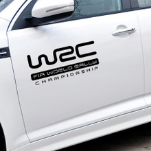 WRC reflective stickers NV200 word escape new sega WRC rally modified special car stickers