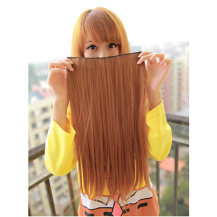 Comb wig hair girl hair hair hair wigs-hair tablets (6 in)