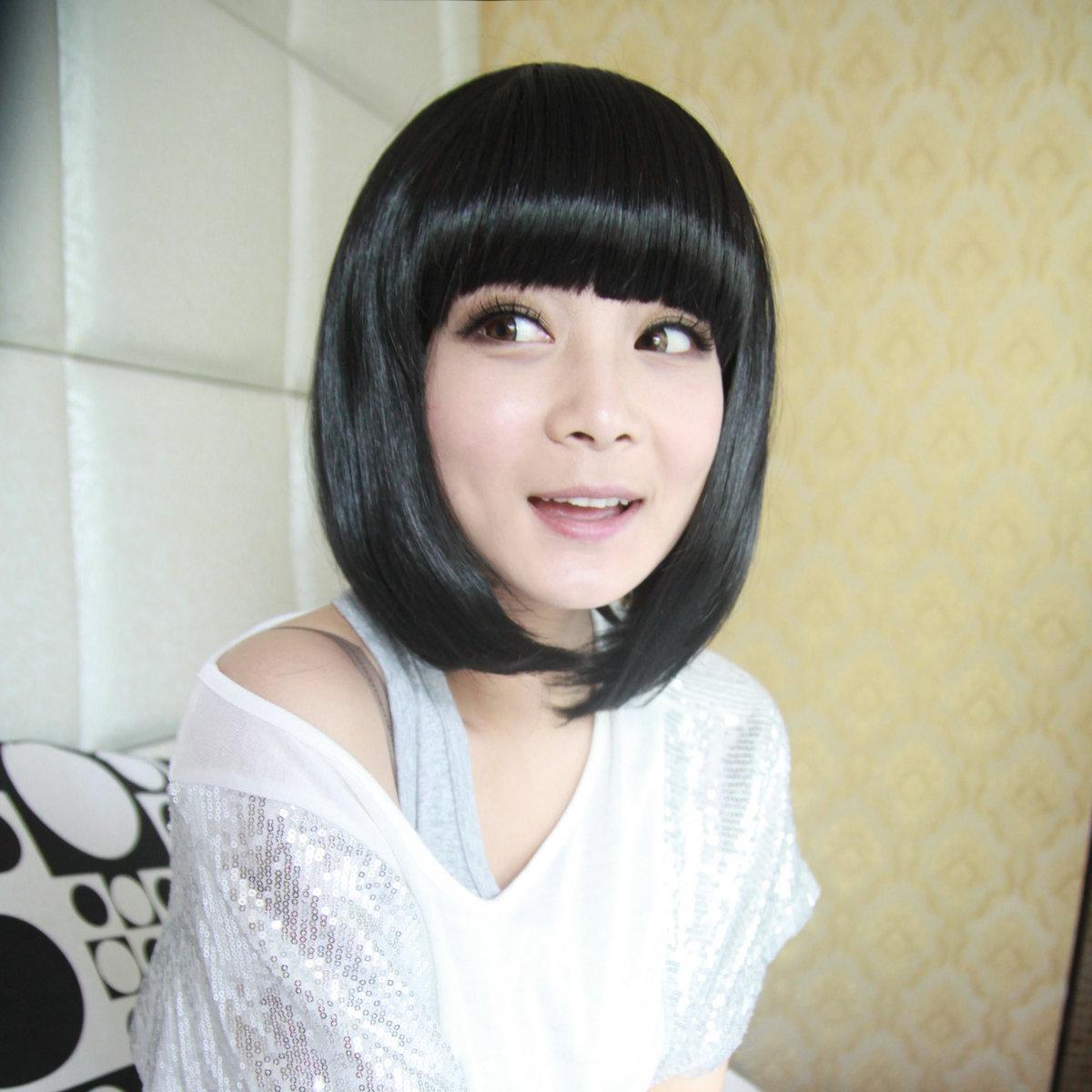 沙宣短发女长脸分享展示图片