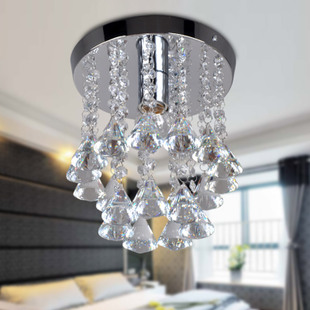 Simple modern Crystal ceiling light restaurant romantic pastoral ideas for lamps Lighting living room bedroom lighting 2001