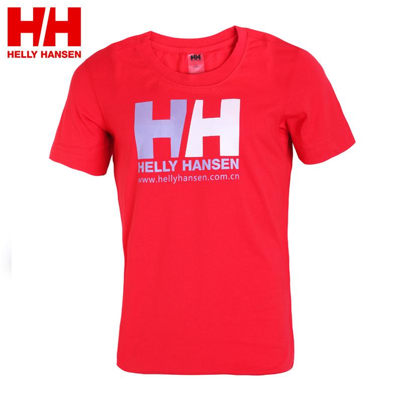 Спортивная футболка Helly Hansen h61020001M020154 Hellyhansen 20154 Свободный О-вырез Короткие рукава ( ≧35cm ) 100 хлопок Спорт на открытом воздухе Влагопоглощающие, Воздухопроницаемые % Логотип бренда, Надпись