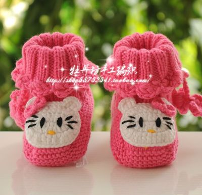 New special hand-woven wool shoes baby shoes, baby shoes toddler shoes soft soled shoes breathable Spring